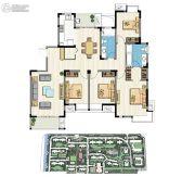 新加坡尚锦城4室2厅2卫164平方米户型图