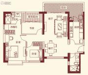 恒大帝景3室2厅2卫118平方米户型图