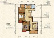 荣德・棕榈阳光3室2厅1卫112--114平方米户型图