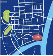 滨江汇龙港交通图