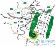 庆隆南山高尔夫荟澜山交通图