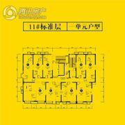 恒大都市广场0室0厅0卫40--90平方米户型图