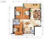 华悦春天3室2厅0卫118平方米户型图