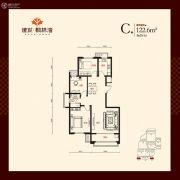 建发枫林湾3室2厅1卫0平方米户型图