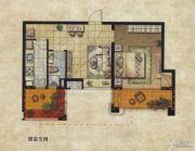 达安上品花园1室1厅1卫62平方米户型图