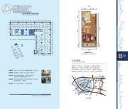 洋湖时代广场30平方米户型图
