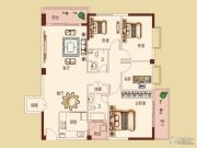 锦绣清江4室2厅2卫139平方米户型图