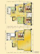 远达天际上城4室2厅2卫145平方米户型图