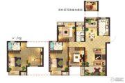 莱蒙水榭阳光3室2厅2卫117平方米户型图