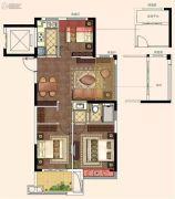 荣安诚品园3室2厅1卫89平方米户型图