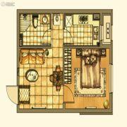 银亿格兰郡1室1厅1卫53平方米户型图