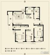 江南雅苑3室2厅2卫133--140平方米户型图