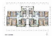 保利国际广场6室2厅4卫242平方米户型图