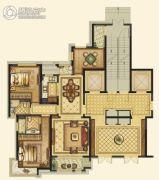 平阳滨江壹号3室2厅2卫113平方米户型图