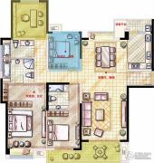 星河国际4室2厅3卫172平方米户型图