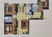 海亮熙岸华府3室2厅2卫115平方米户型图
