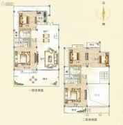 霞浦东泰华府5室2厅4卫252平方米户型图