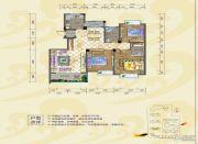 银海富都2室2厅1卫78--82平方米户型图