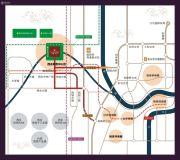 国盛园墅交通图