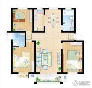 和美居3室2厅2卫0平方米户型图