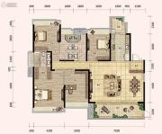 奥林匹克花园五期4室2厅3卫0平方米户型图