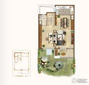 新城源山4室2厅4卫165平方米户型图