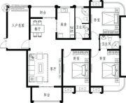 龙商荣域3室2厅2卫0平方米户型图