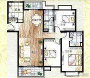 上海新城3室2厅2卫155--156平方米户型图