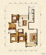和昌・国际城4室2厅2卫160平方米户型图