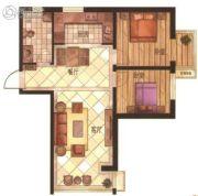 华富・瑞士名居2室2厅1卫0平方米户型图