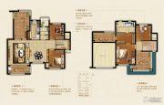 恒大悦珑湾4室2厅2卫194平方米户型图