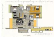 万菱・情侣湾一号4室2厅4卫270平方米户型图