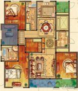 姑苏金茂府4室2厅2卫180平方米户型图