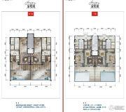 公园19034室2厅3卫194平方米户型图