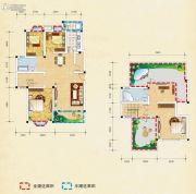 弘乐府・公园1号5室2厅2卫176平方米户型图