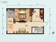 财智公馆2室1厅1卫0平方米户型图