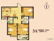 瑞隆城三期麒麟山3室2厅1卫89平方米户型图