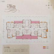 锦绣明珠花园5室2厅3卫244平方米户型图