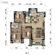 嘉裕第六洲3室2厅2卫101平方米户型图