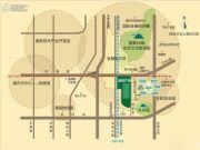 绿城百合公寓三期交通图
