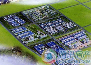 盛泉石岛工业园商贸中心规划图