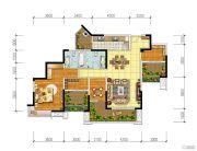 宏创・龙湾半岛3室2厅2卫130平方米户型图