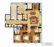 绿城宁波中心�m轩0室0厅0卫0平方米户型图
