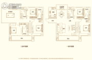 建业・新城半岛5室3厅5卫269平方米户型图