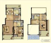 嘉宝梦之缘景庭2室3厅2卫0平方米户型图