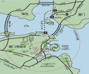 鸿源海景城交通图