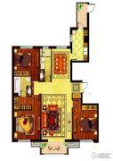 哈西万达广场3室2厅2卫164平方米户型图