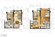 IBOX-部落阁3室2厅3卫83平方米户型图
