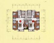 鹿鸣上苑2室2厅2卫115平方米户型图