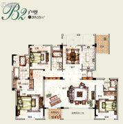 塞拉维3室2厅3卫208平方米户型图